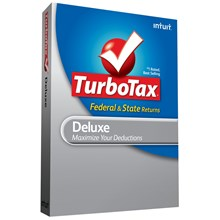 Intuit TurboTax Deluxe Fed with Efile and State 2009 at Sears.com